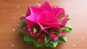 Craft Paper Flowers Roses Diy Handmade Crafts How To Make Amazing Paper Rose Origami Flowers