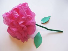 Craft Paper Flowers Roses Simple Steps To Craft Tissue Paper Flowers