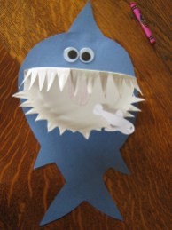 Crafts With Paper Plates For Preschoolers Paper Plate Crafts For Kids A Z School Crafts For Kids Shark