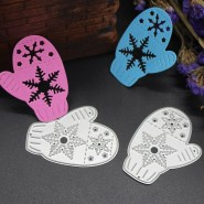 Crafts With Scrapbook Paper 2019 Christmas Gloves Diy Metal Cutting Dies Stencil Scrapbook Card