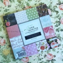 Crafts With Scrapbook Paper Eno Greeting Love Scrapbook Paper Pack 6 Inch Vintage Floral