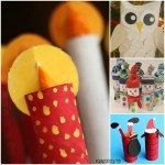 Creative Crafts With Toilet Paper Roll Christmas Toilet Paper Roll Crafts