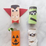 Creative Crafts With Toilet Paper Roll Halloween Toilet Paper Roll Crafts The Best Ideas For Kids