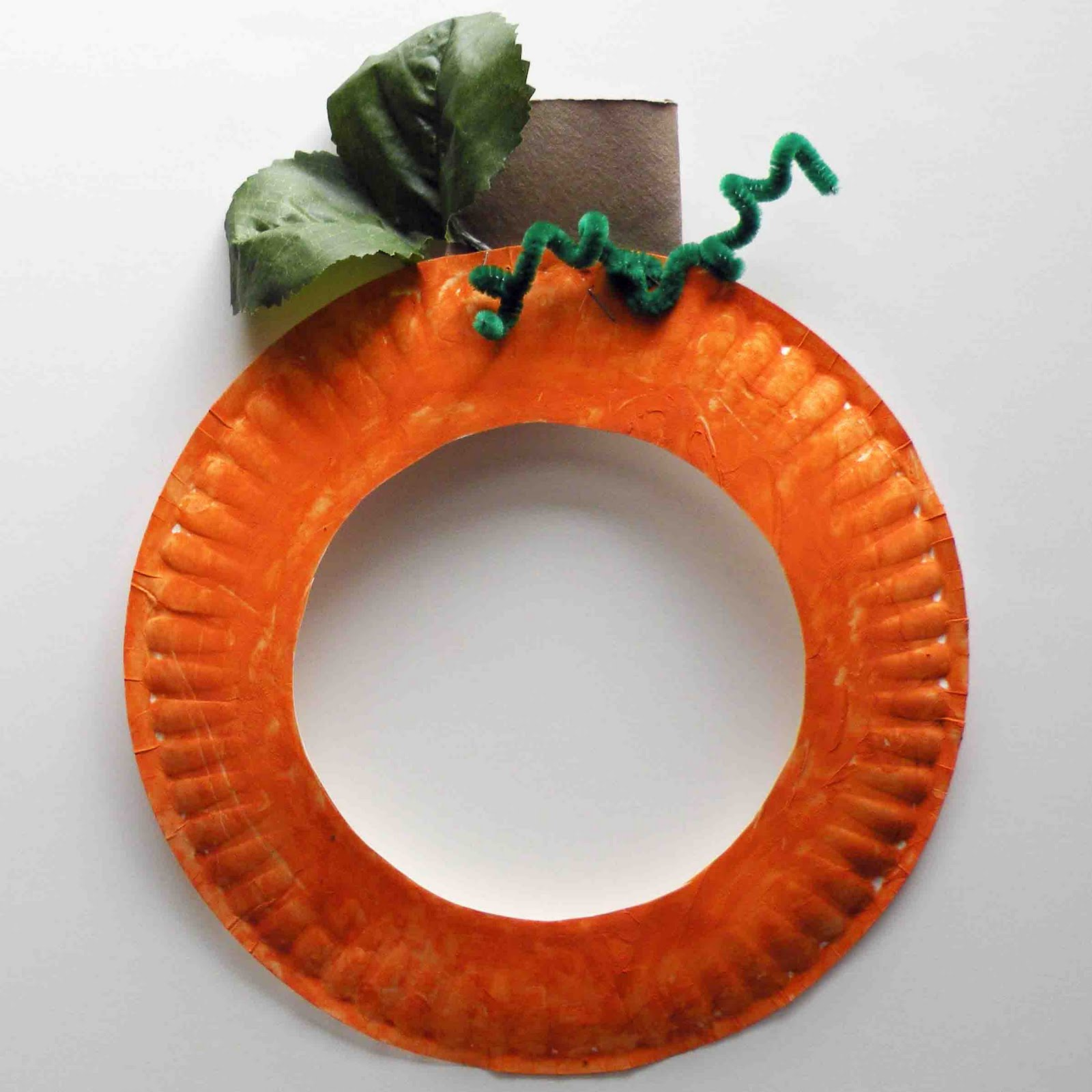 Creative ideas for pumpkin paper crafts design Be Brave Keep Going Pumpkin Paper Plate Craft For Kids