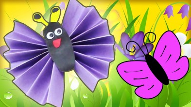 Easy Construction Paper Crafts How To Make A Construction Paper Butterfly Diy Easy Home