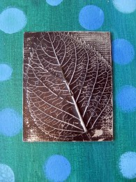 Foil Paper Crafts Cassie Stephens In The Art Room Leaf Relief