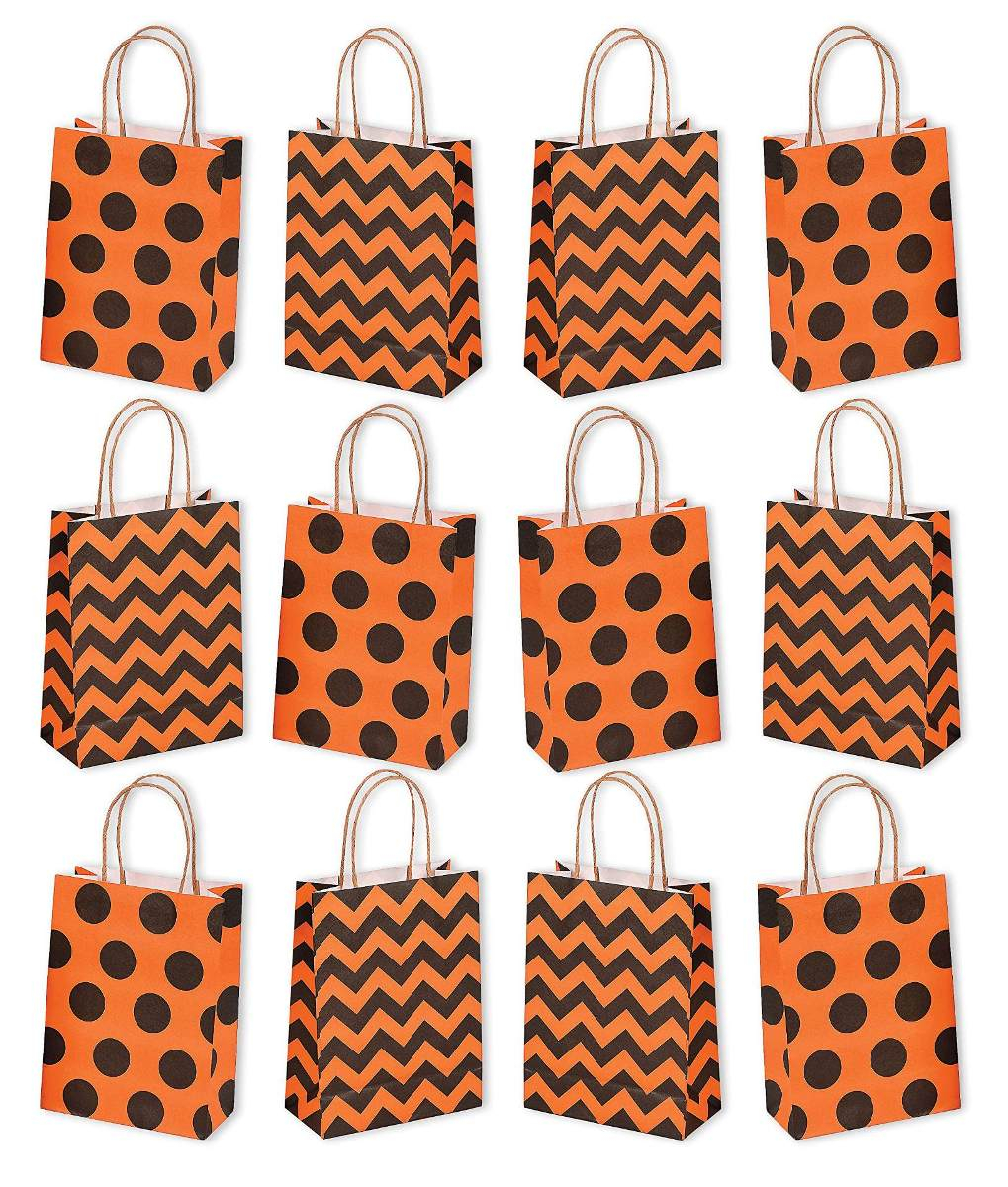 Handmade Paper Craft Gifts You can Make Right Now Halloween Paper Craft Party Gift Goodie Bags Pack De 12 Bol
