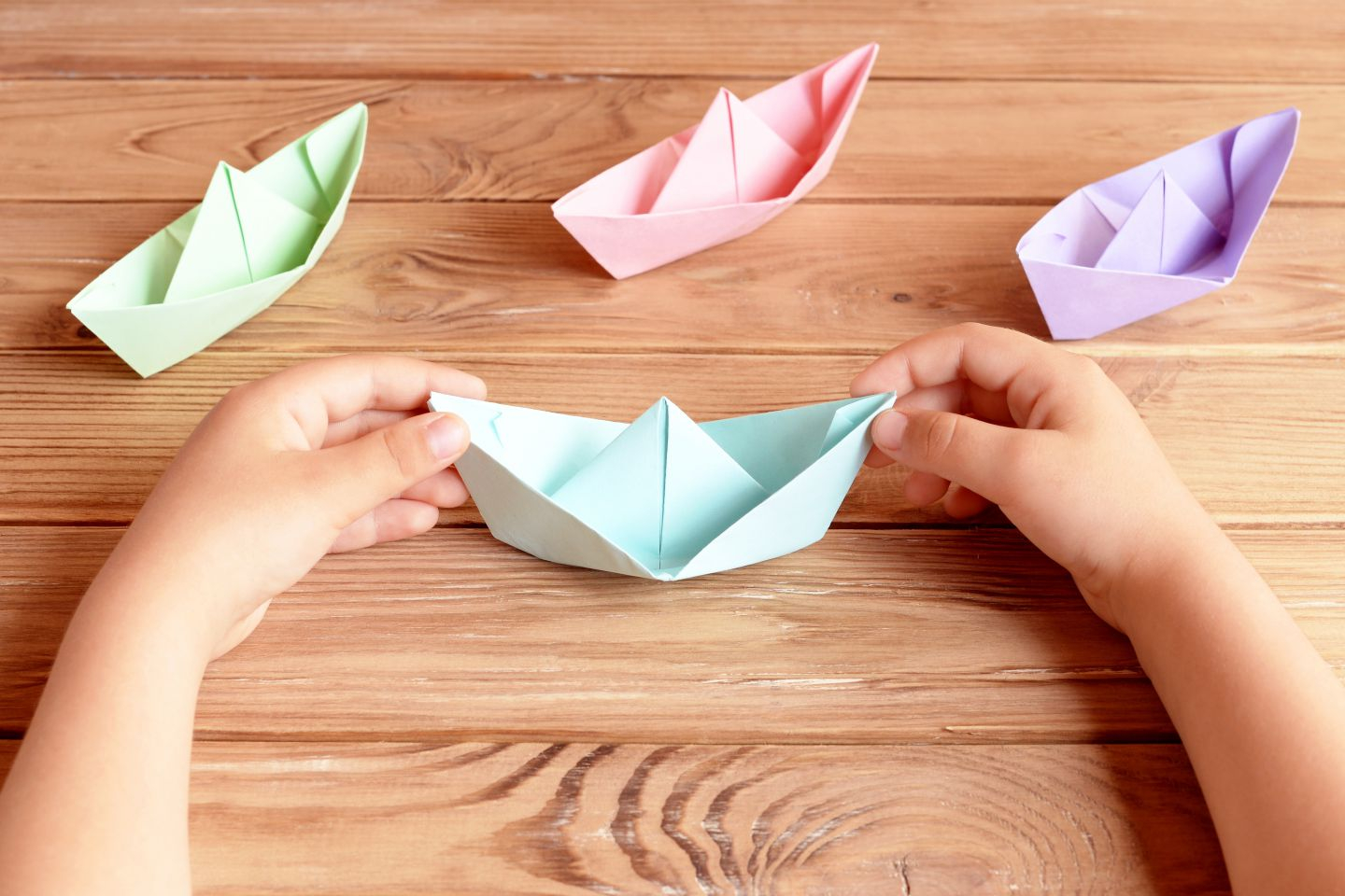 Home crafts you can make with paper How To Make A Paper Boat Step Step Persil