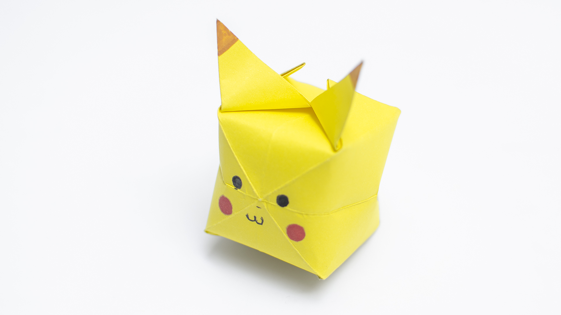 Home crafts you can make with paper How To Make An Origami Pikachu With Pictures Wikihow