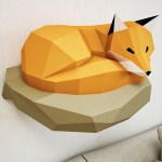 How To Make A Paper Crafts For Gifts How To Create 3d Paper Sculptures With Your Own Hands On Behance