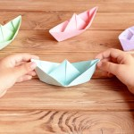 How To Make A Paper Crafts For Gifts How To Make A Paper Boat Step Step Persil