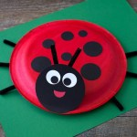 How To Make A Paper Crafts For Gifts How To Make A Paper Plate Ladybug