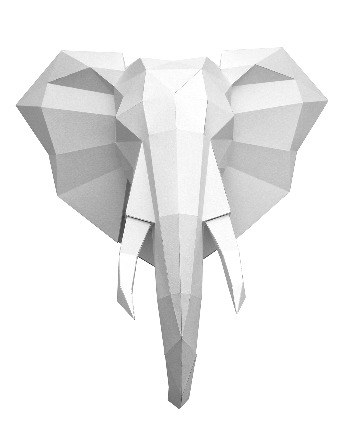 How to Make an Elephant Paper Craft Fun Crafts for Kids An Elegant Elephant On Behance