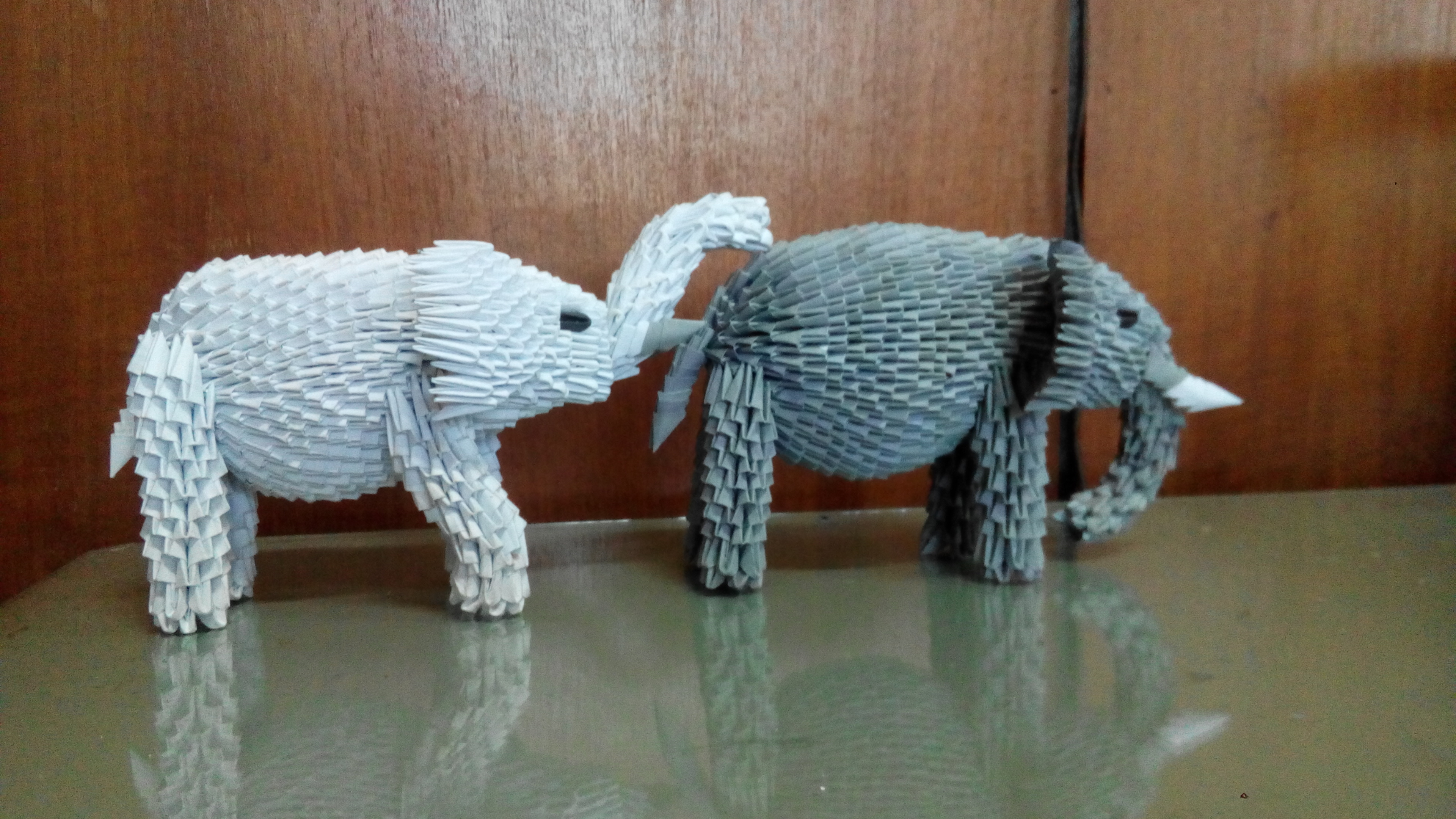 How to Make an Elephant Paper Craft Fun Crafts for Kids Paper Craft 3d Origami Elephant Tutorial Httpsyoutubehzetqn5jv