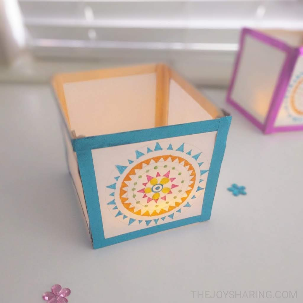 How to Make Japanese Paper Lanterns Craft for Kids How To Make Paper Lantern Craft The Joy Of Sharing