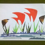 How To Make Paper Craft Fish For Kids Craft Art Fish And Under Water View Paper Recycle Paper