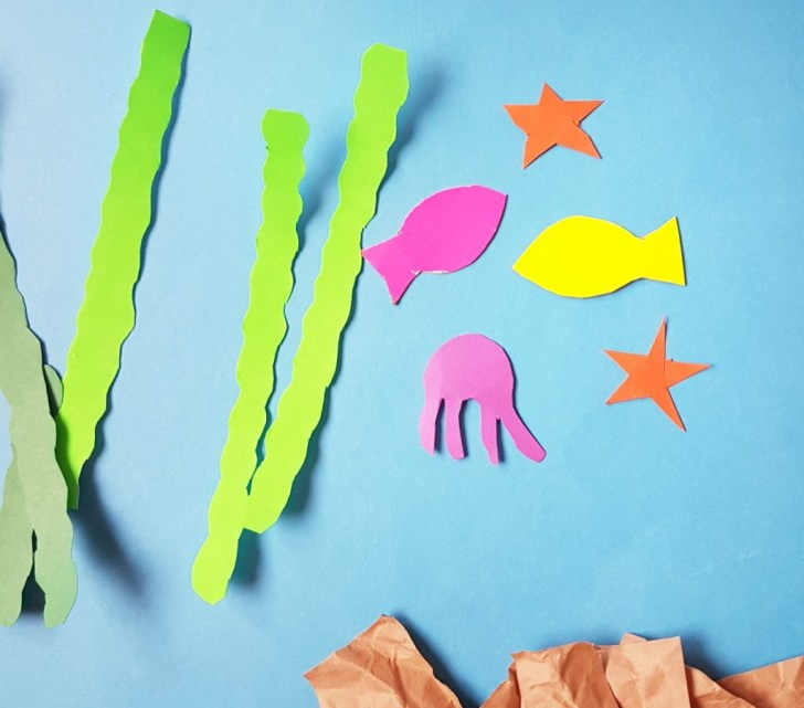 How to Make Paper Craft Fish for Kids