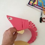 How To Make Paper Craft Fish For Kids Making A Paper Fish Thriftyfun
