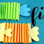How To Make Paper Craft Fish For Kids Paper Craft Fish How To Make Paper Fish For Kids Art And Craft