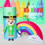 Leprechaun Toilet Paper Roll Craft Leprechaun And Rainbow Crafts