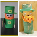 Leprechaun Toilet Paper Roll Craft St Patricks Day Activities For Kids Clares Little Tots