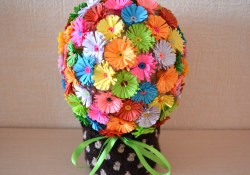 Paper Craft Flowers Bouquet How To Make A Fun Paper Flower Bouquet Diy Crafts Tutorial