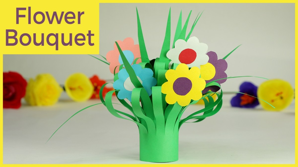 How to Make Paper Flowers for a Wedding Bouquet | HGTV | 675x1200