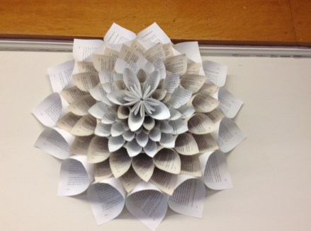 Paper Craft For Adults Book Craft At Greenfield Public Library Library As Incubator Project