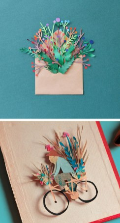 Paper Craft Photos 10 Examples Of Cut Paper Illustration To Put You In Tune With Nature
