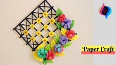 Paper Crafts For Wall Decor Diy Wall Decoration Ideas With Paper Craft Ways To Decorate Your