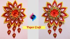 Paper Crafts For Wall Decor Paper Wall Hanging Crafts For Decorations Wall Decoration With