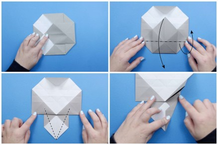 Paper Crafts Instructions How To Make An Origami Elephant