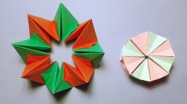 Paper Crafts Instructions How To Make Easy Origami Magic Circle Paper Fireworks Easy Paper