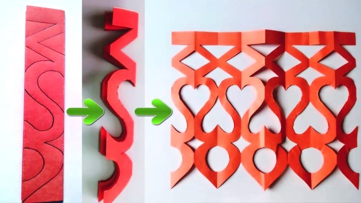 35+ Pretty Picture of Paper Cutting Crafts