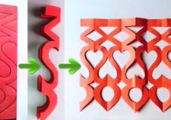 Paper Cutting Crafts Easy Paper Cutting Craft Design Youtube
