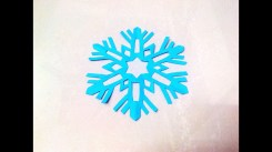 Paper Cutting Crafts How To Make A Kirigami Paper Snowflake 2 Kirigami Paper