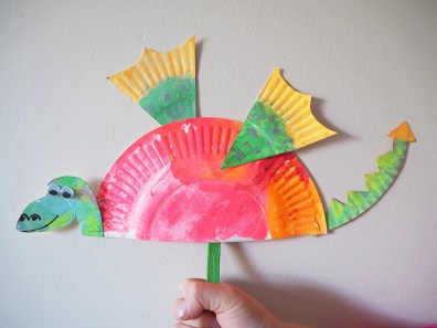 Paper Plates Arts And Crafts Learn With Play At Home Simple Paper Plate Dragon Craft