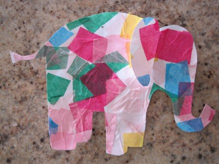 Paper Tissue Crafts The Many Layers Of Me Simple Tissue Paper Crafts