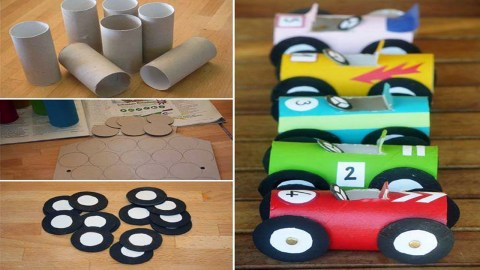 Paper Towel Roll Craft Toilet Paper Roll Crafts For Kids Full Youtube