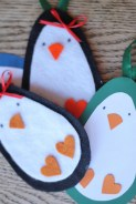 Penguin Paper Craft Diy Ornaments Penguin Gift Tags Crafts Unleashed