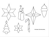 Printable Paper Crafts Templates Christmas Ornaments Papercraft Christmas Ornaments Free Printable