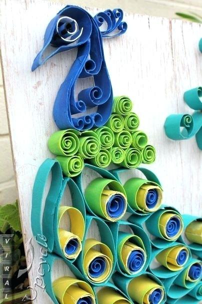 Recycled Paper Towel Tubes Crafts for Kids Paper Towel Rolls Art Paper Towel Roll Art Into Bohemian Rustic