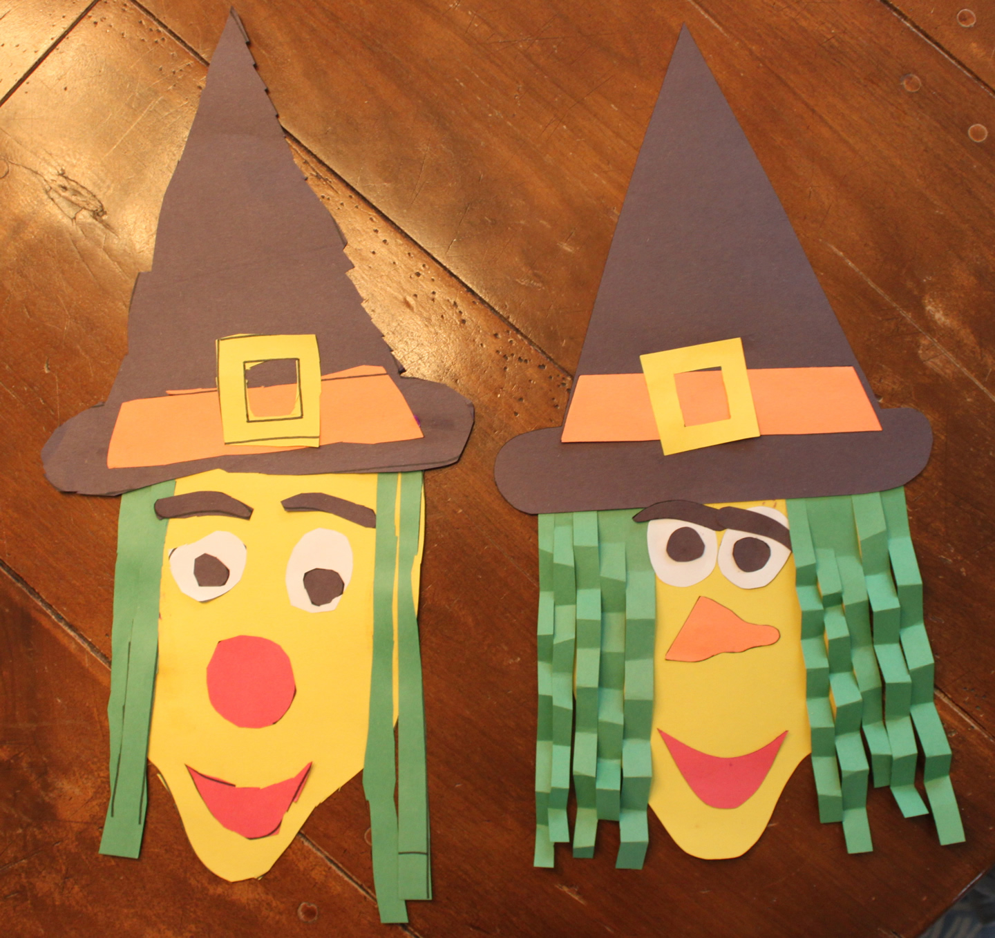 Simple and Cute Construction Paper Crafts for Kids Construction Paper Halloween Witch Kidlist