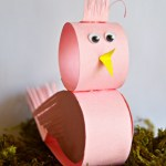 Simple And Cute Construction Paper Crafts For Kids Cute Little Paper Bird Craft Thriftyfun