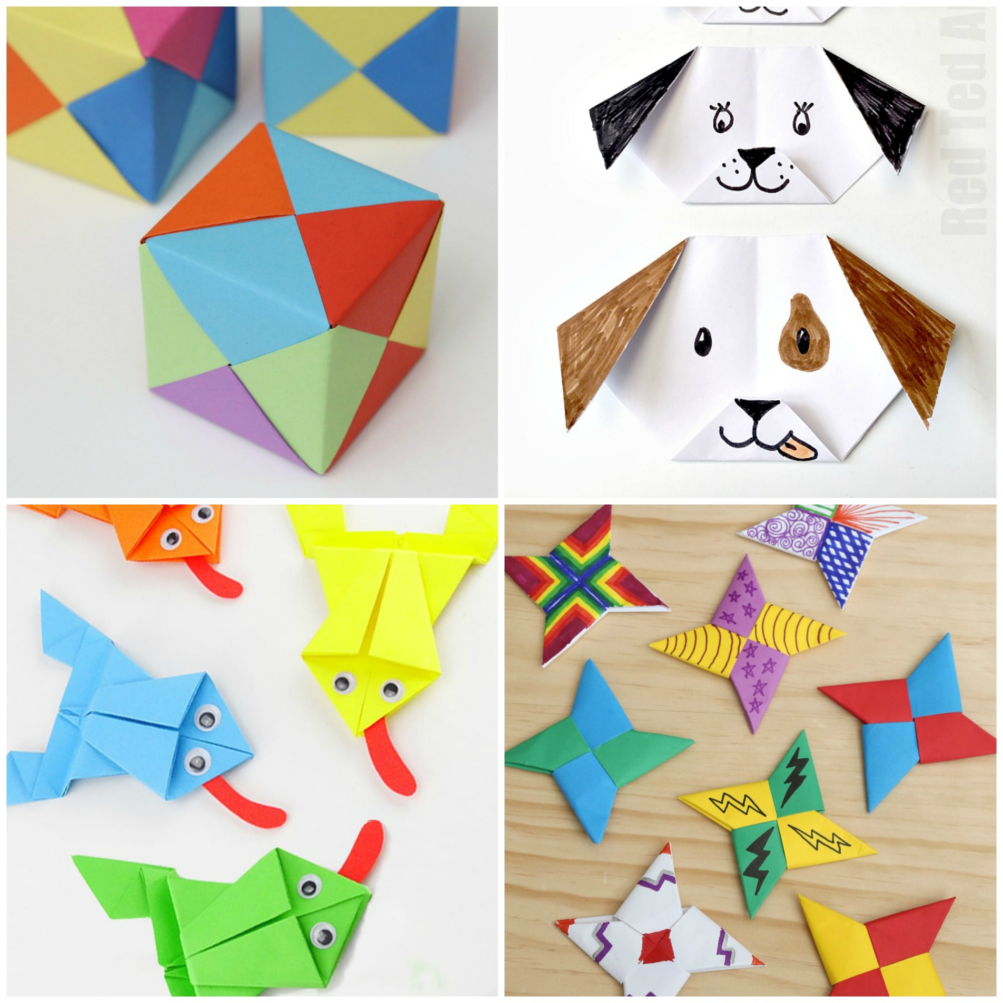 Simple and Cute Construction Paper Crafts for Kids Paper Crafts For Kids 30 Fun Projects Youll Want To Try Frugal
