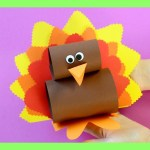 Simple And Cute Construction Paper Crafts For Kids Simple Paper Turkey Craft Thanksgiving Crafts For Kids Youtube