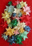 Simple Crafts Using Paper to Add New Accessory at Home 3 D Stars Moravian Pensylvanian German