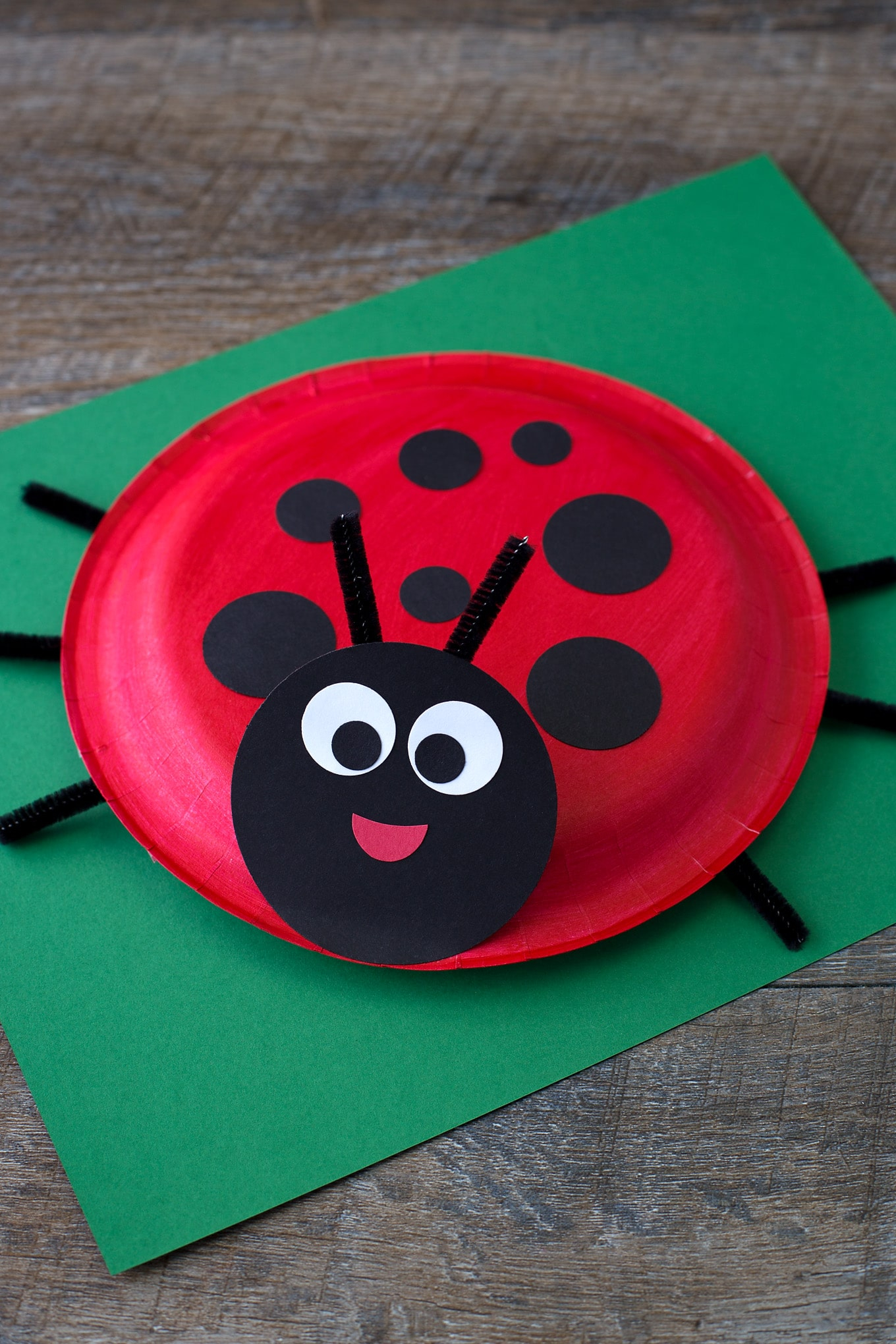 Simple Crafts Using Paper to Add New Accessory at Home How To Make A Paper Plate Ladybug