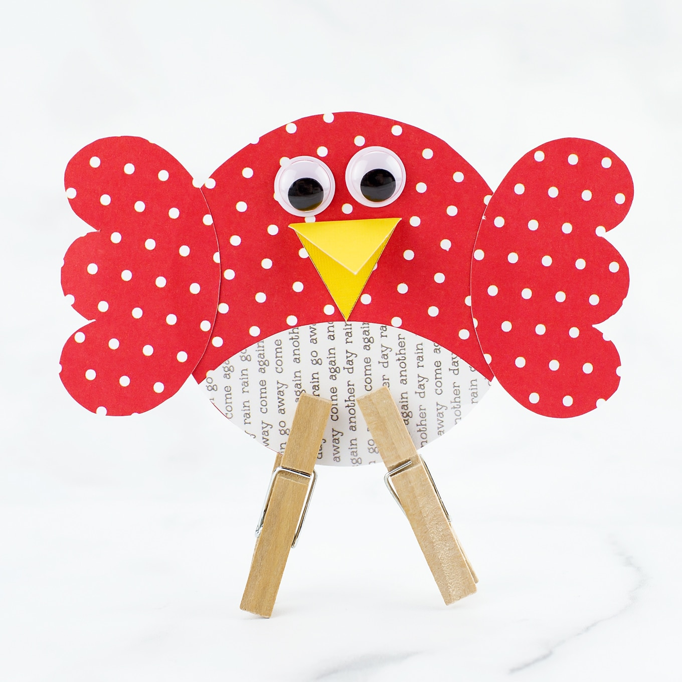 Simple paper craft for preschoolers How To Make An Easy And Fun Paper Bird Craft