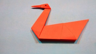 Swan Paper Craft How To Make A Paper Swan Diy Origami Paper Craft Easy Tutorial
